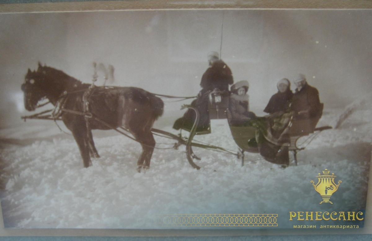 Фотография в старинной рамке 1904 год №1035