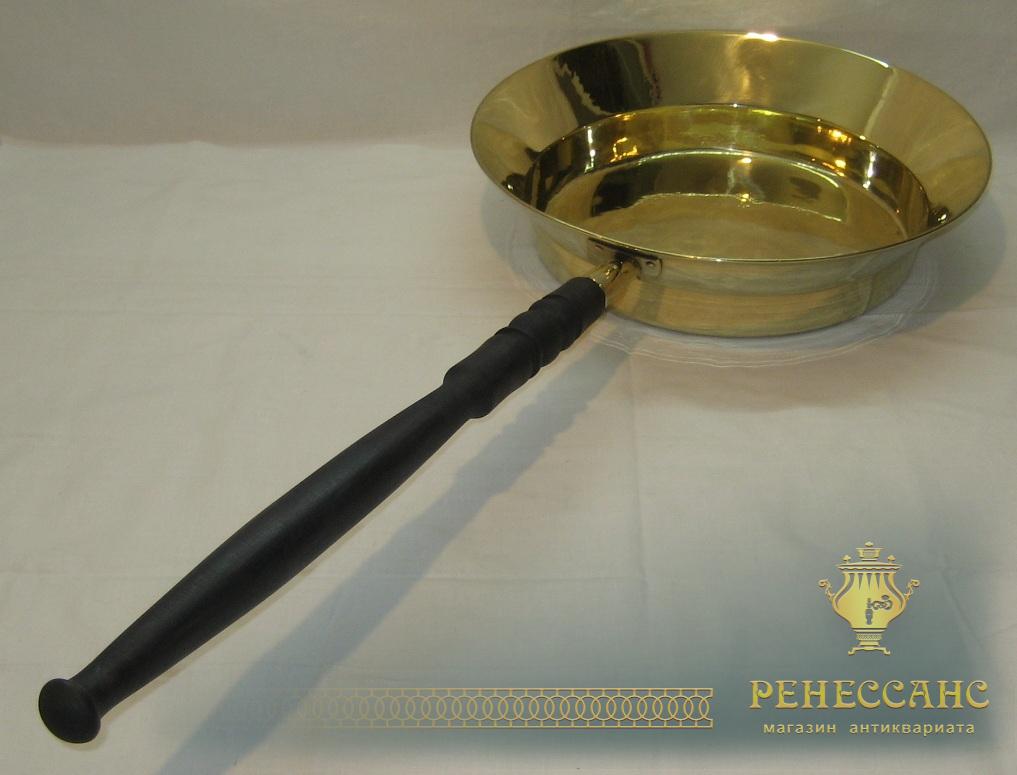 Таз царский с деревянной ручкой, для варения №2037
