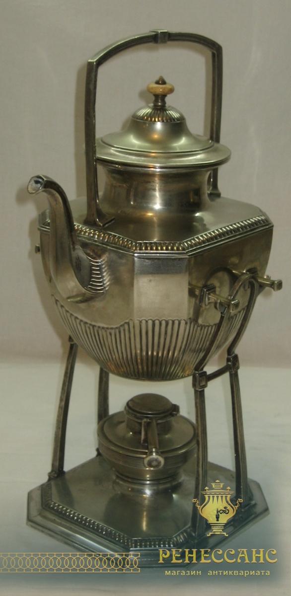Бульотка старинная, серебрение, Европа 19 век №2050