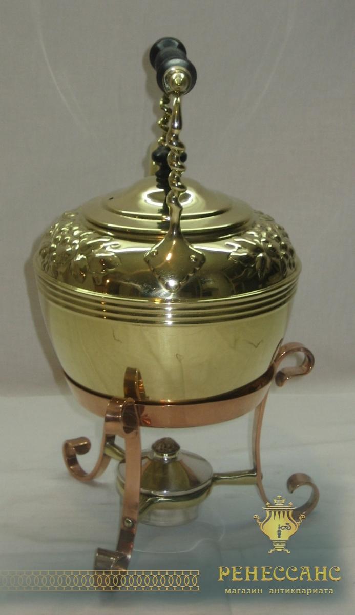 Бульотка старинная на 1,5 литра, Европа 19-20 век №2052