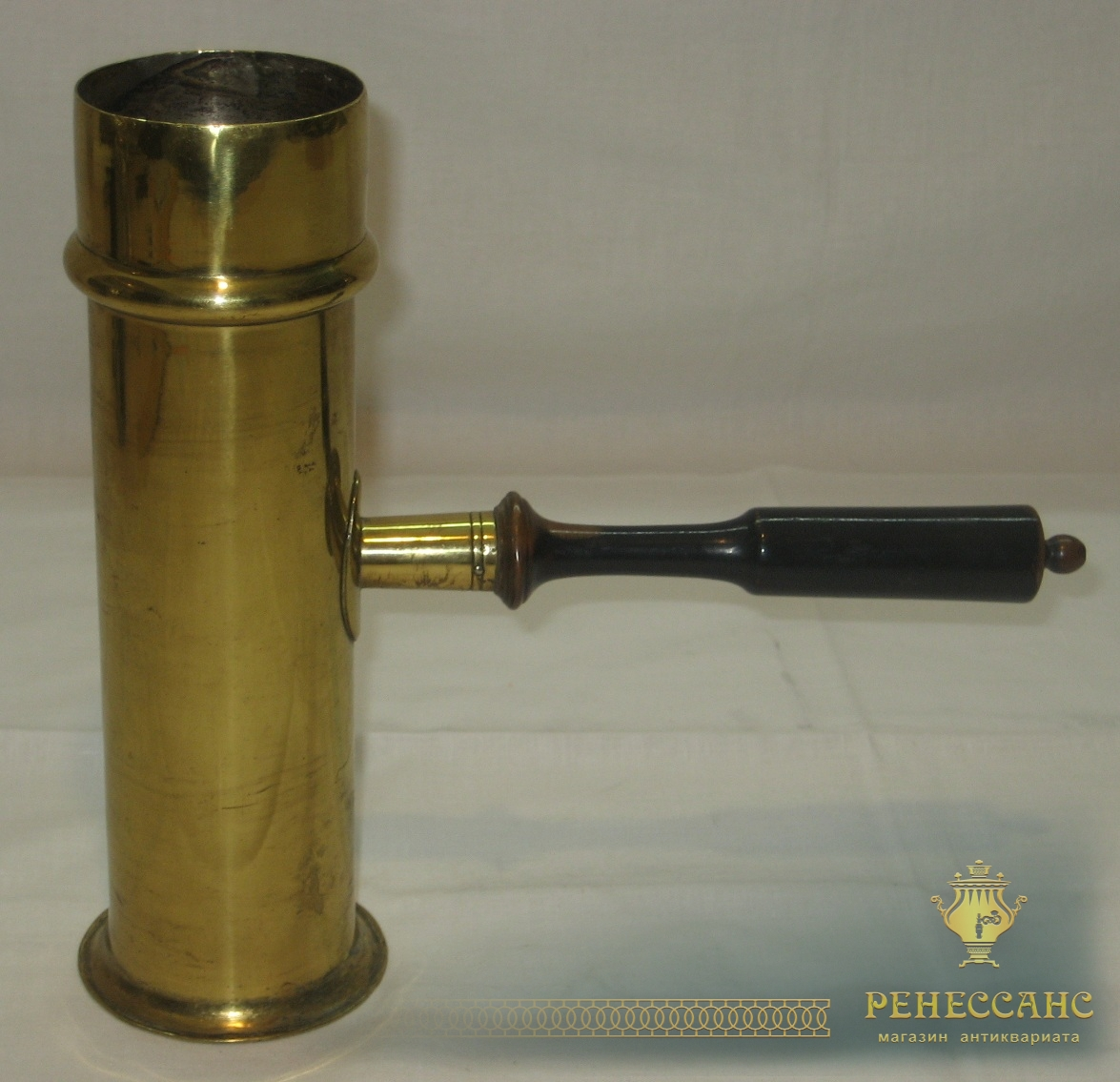 Труба к самовару, латунная, 19 век №2198