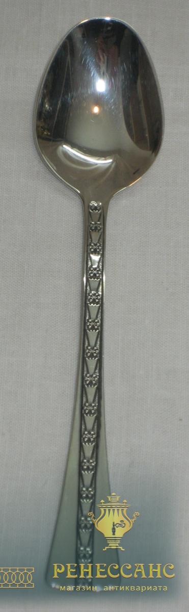 Ложки из серебра, 6 штук, 916 проба, СССР №2214