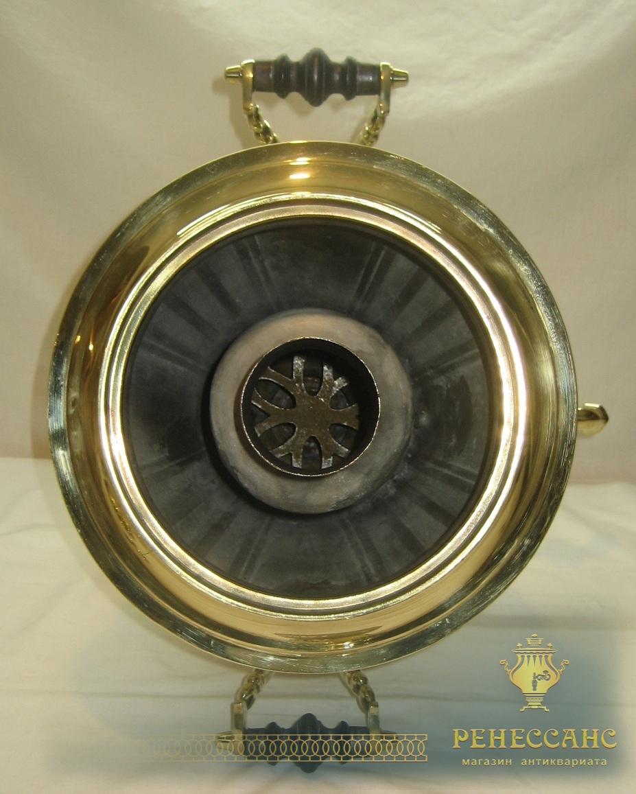 Самовар угольный «рюмка», на 6 литров, «Бр. Шмариных» №660