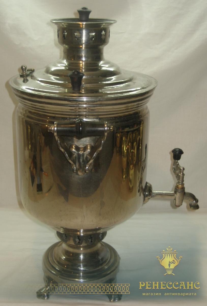 Самовар жаровой «банка», на 7 литров, «Тула» СССР №669