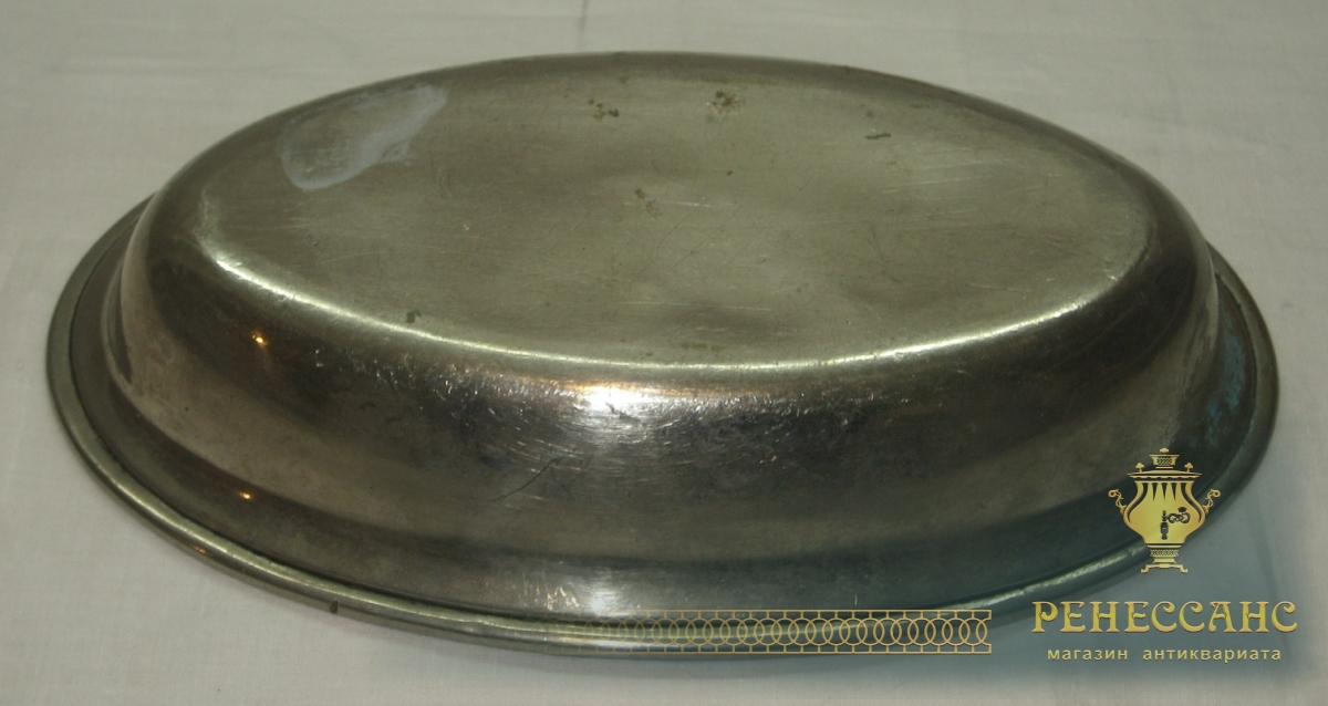 Блюдо старинное, конфетница, сухарница №2357