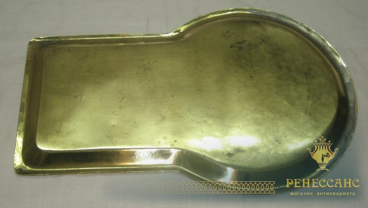 Поднос старинный «замочная скважина», под эгоиста, 19-20 век №2370