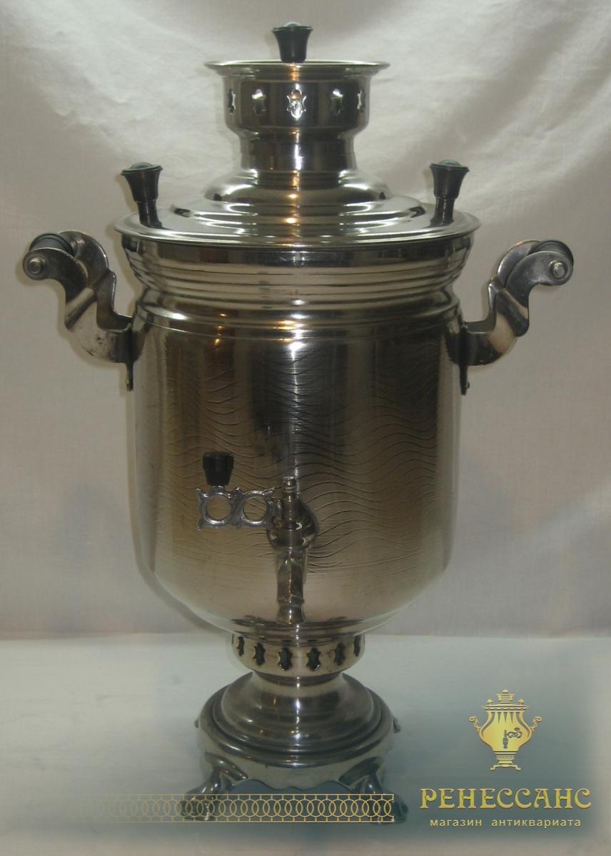 Самовар угольный «банка» на 5 литров, «ЗШВ 1981 год» №684
