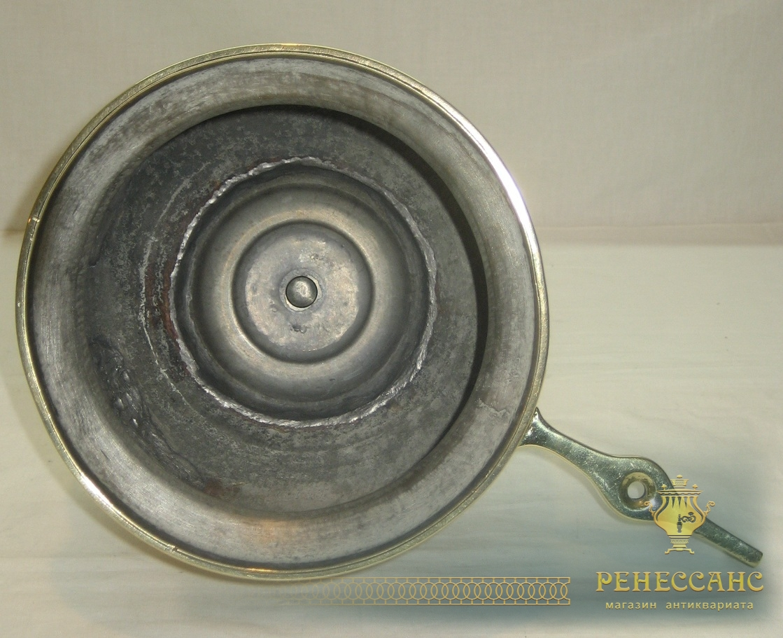 Умывальник старинный, рукомойник латунный, на 3 литра, Россия 19 век №2381