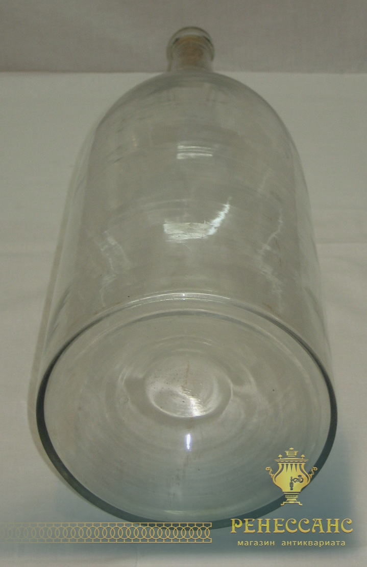 Четверть, бутылка для самогона, стекло, 19 век №2398