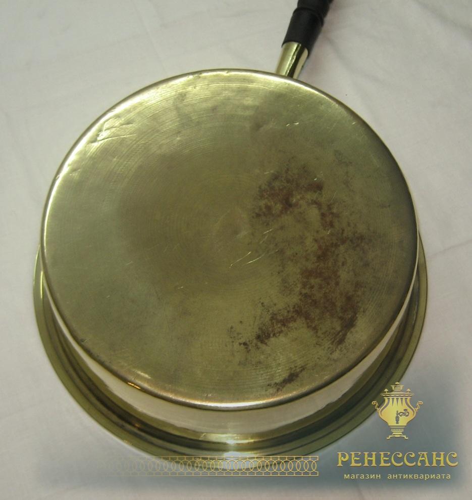 Таз для варения, тазик с ручкой, на 4 литра, «Аленчиков и Зимин» 19 век №2431