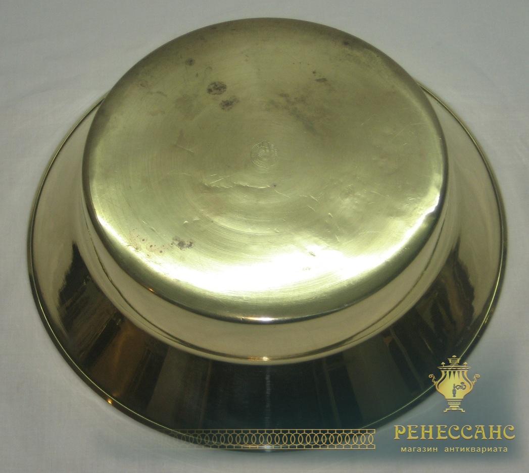 Таз старинный, тазик для варки варения, «Кольчугинский з-д» СССР №2525