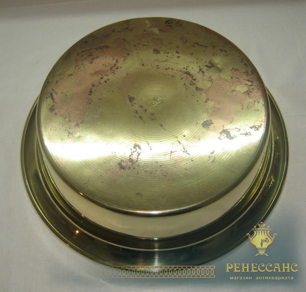 Таз для варки варения, тазик латунный, «Кольчугино» СССР №2529