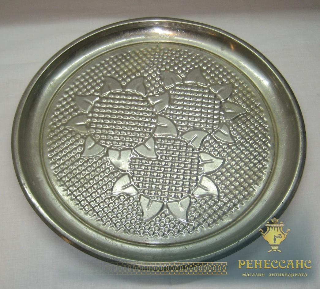Поднос круглый «подсолнухи» СССР №2552