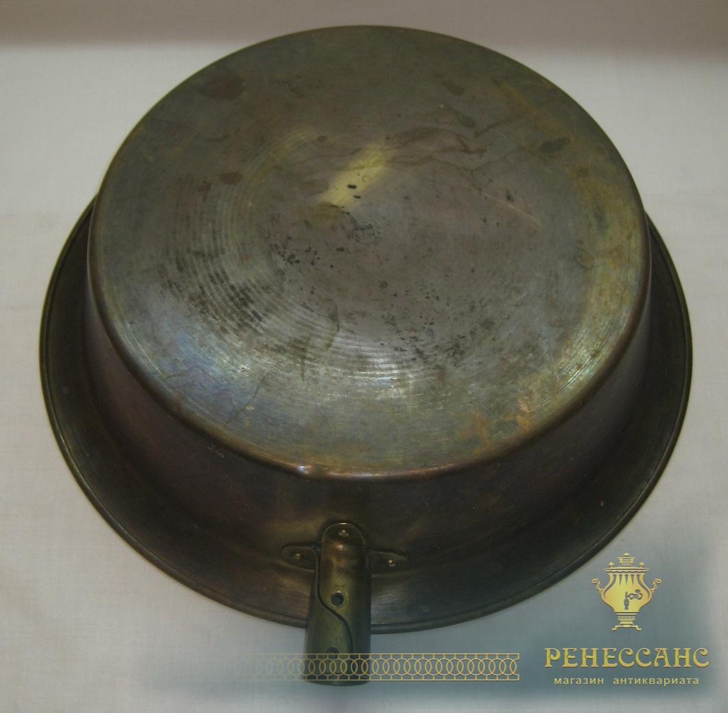 Таз латунный, тазик для варения, «Кольчугино» №2566