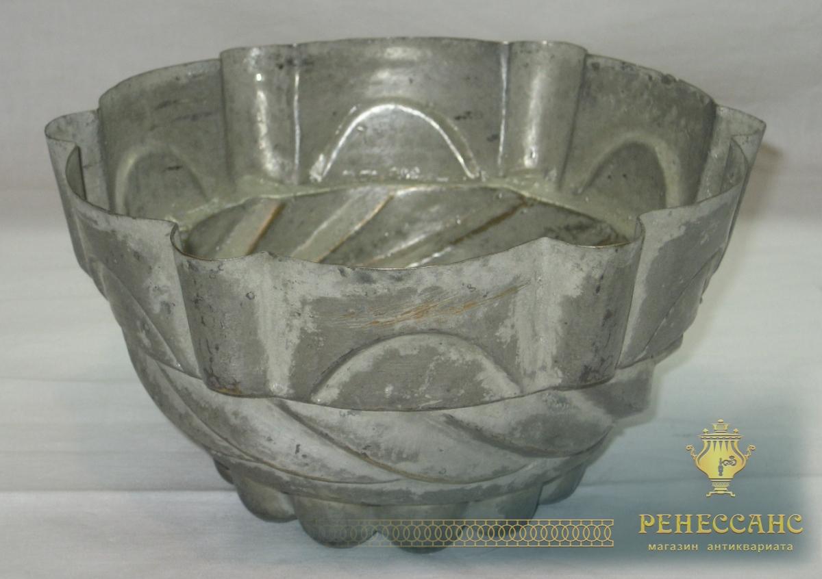 Форма старинная для выпечки, для желе, Россия 19 век №2570