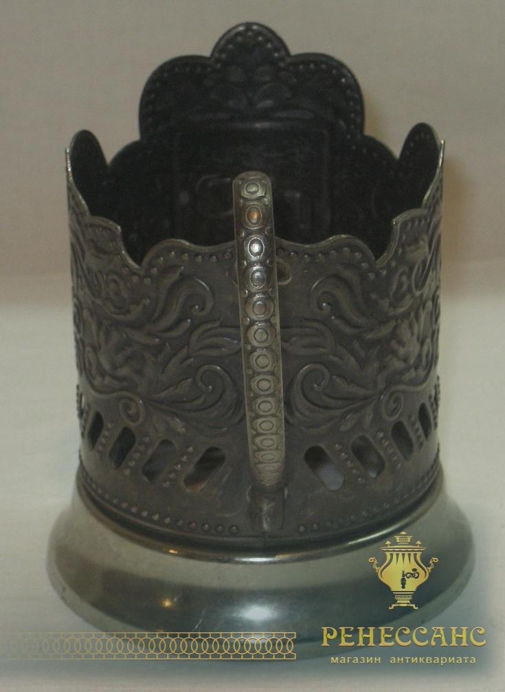 Подстаканник «РЖД», серебрение №2580