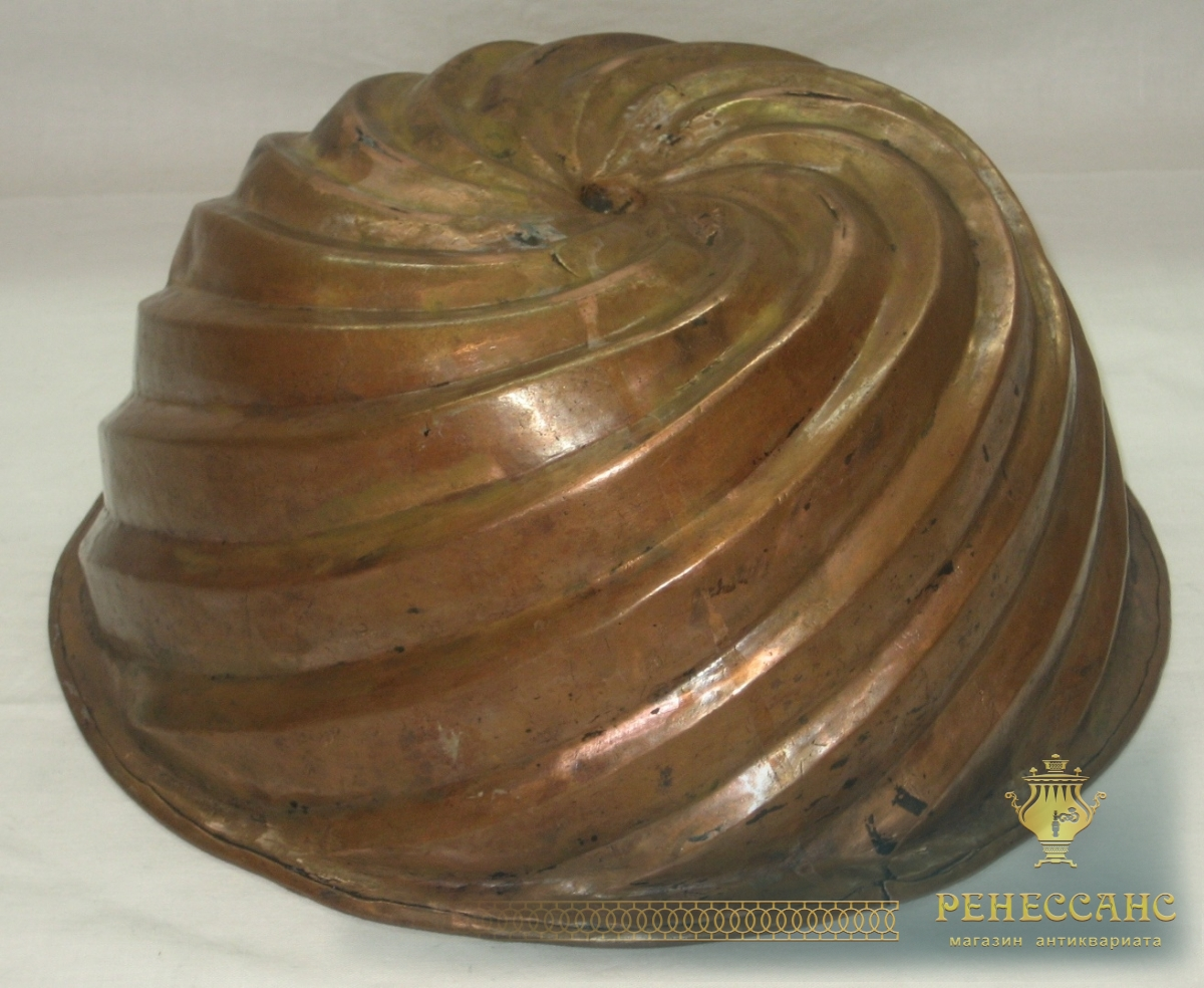 Форма для кекса, для выпечки, старинная №2583
