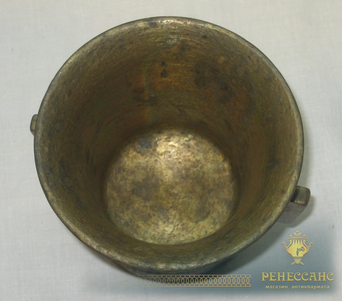 Ступа с пестиком, ступка старинная, Россия 19 век №2587