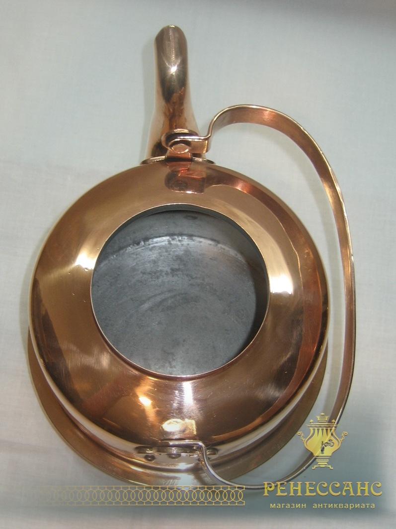 Чайник из меди, на 2 литра, Европа 20 век №2597