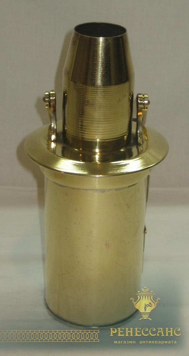 Фонарь, фонарик старинный, из латуни №2715