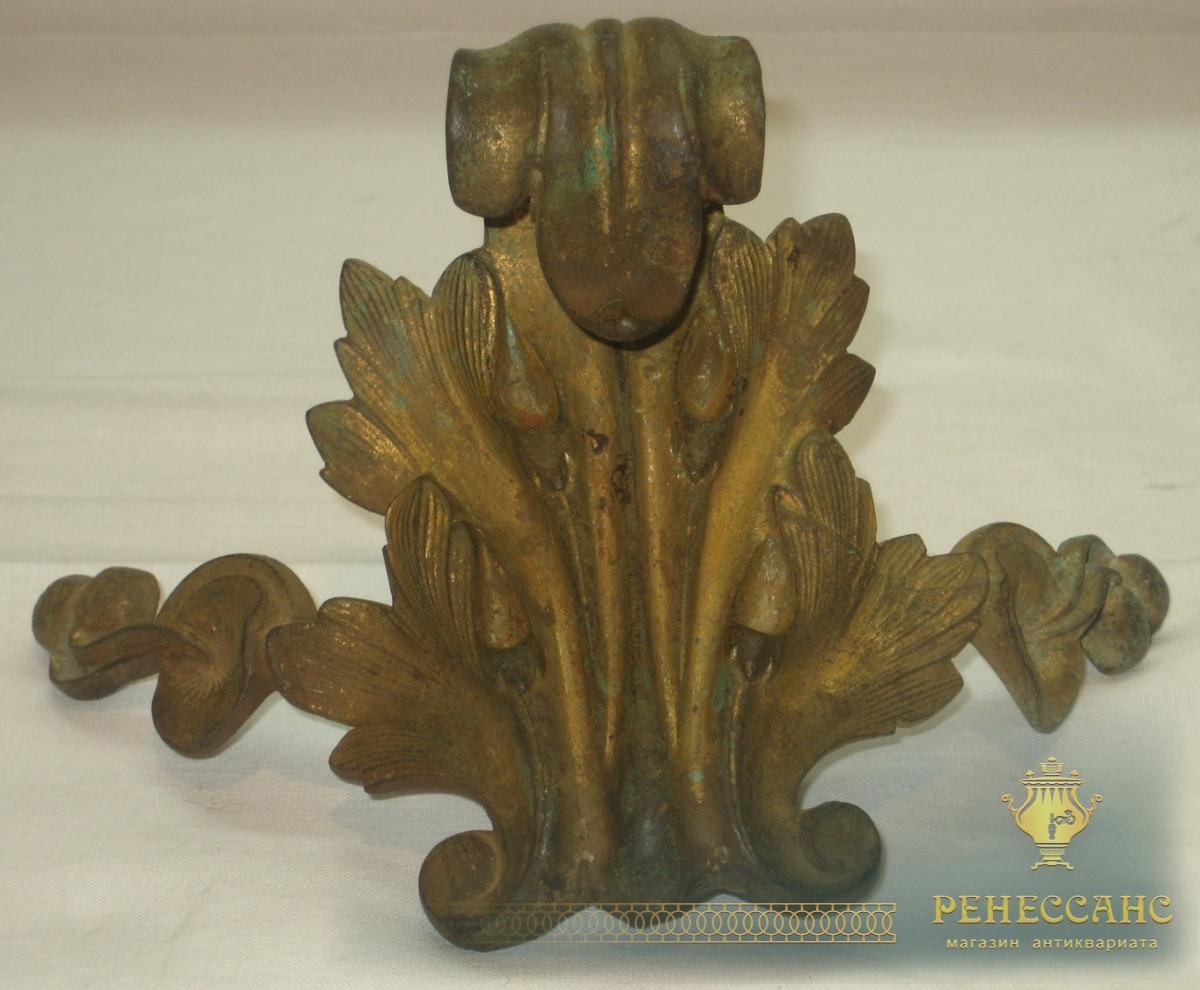 Элемент мебели, старинная деталь, 19 век №2588
