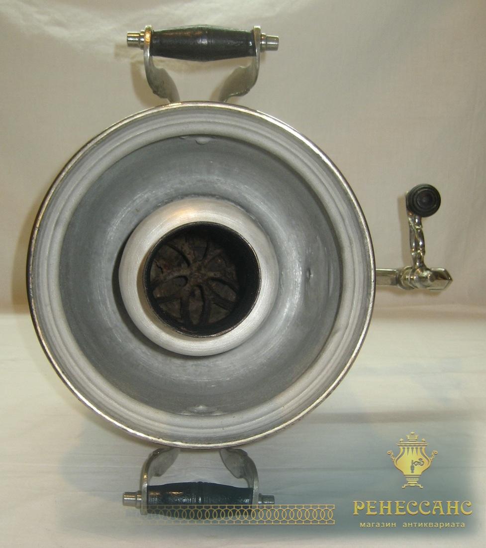 Самовар угольный «банка», на 4 литра, «Со звездой» 1940 год №752