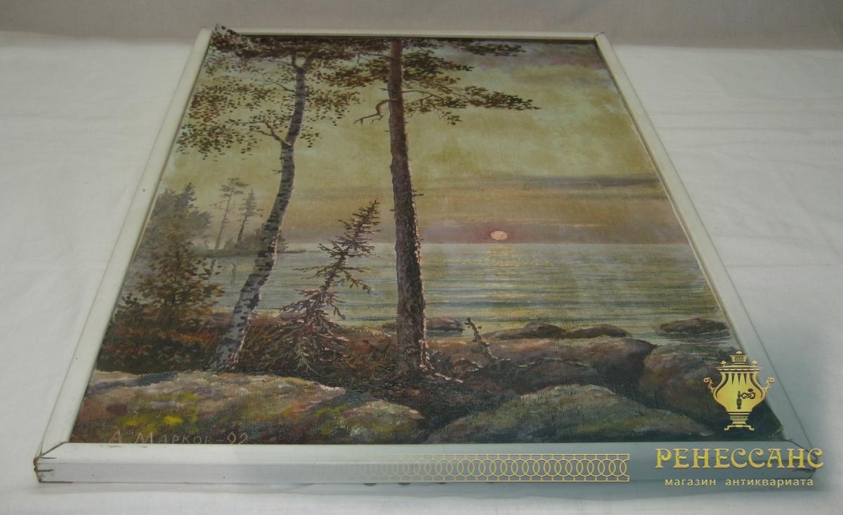 Картина «Пейзаж», «А. Марков 1992 год» №2788