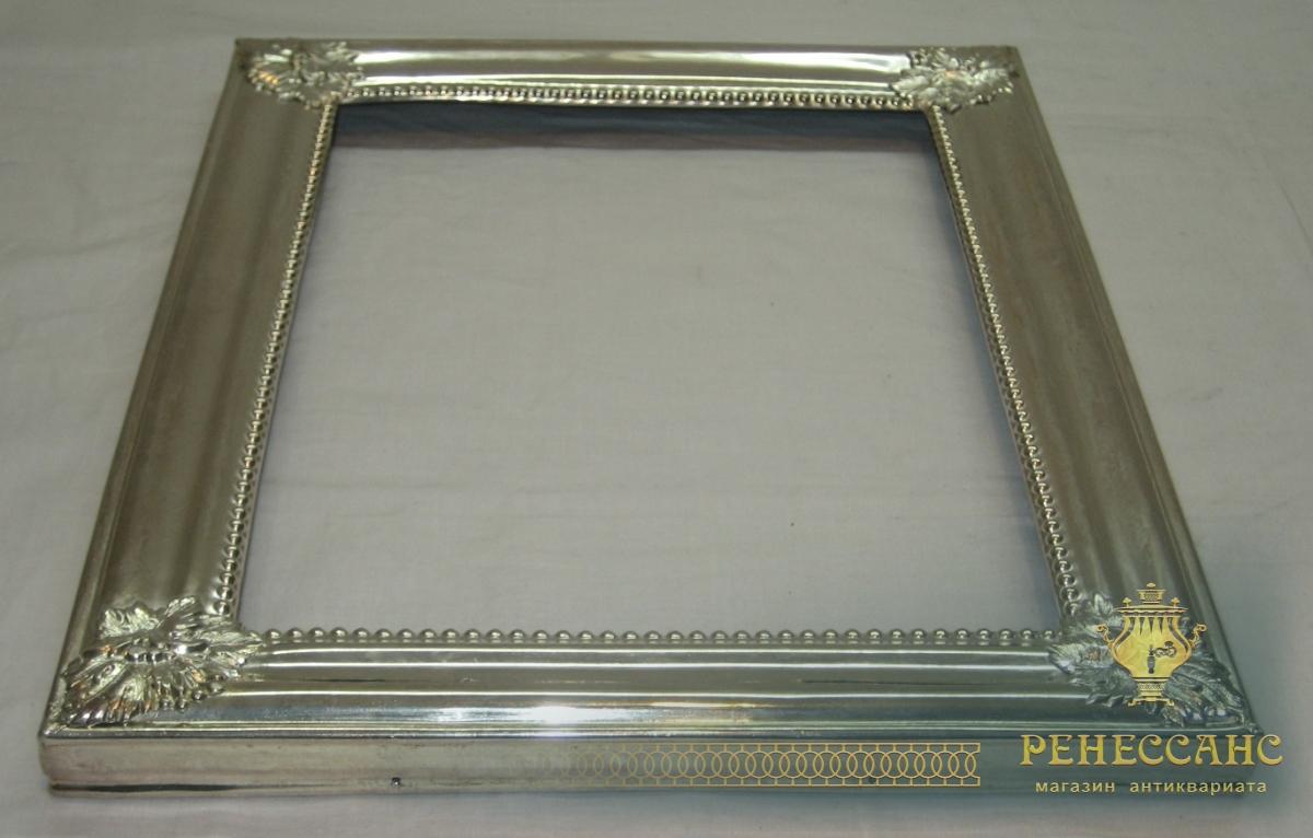 Рамка под зеркало, картину, фото, серебрение, 19-20 век №2806