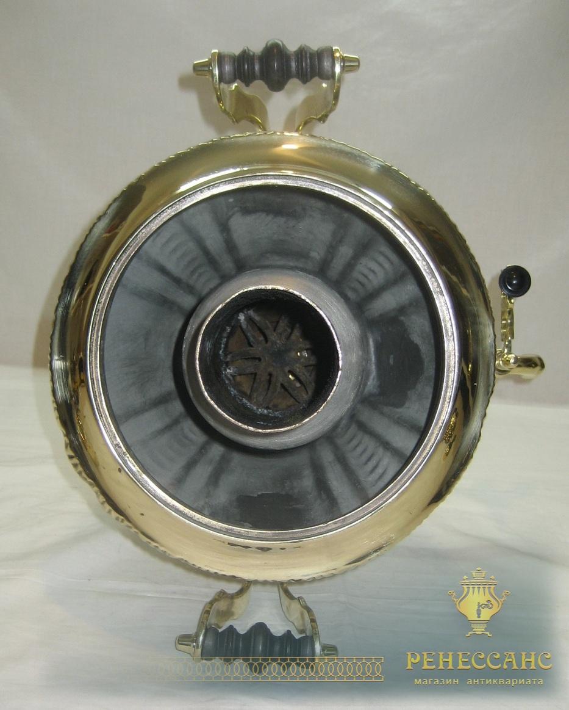Самовар угольный «рюмка», на 4,5 литра, «Тула» СССР №773