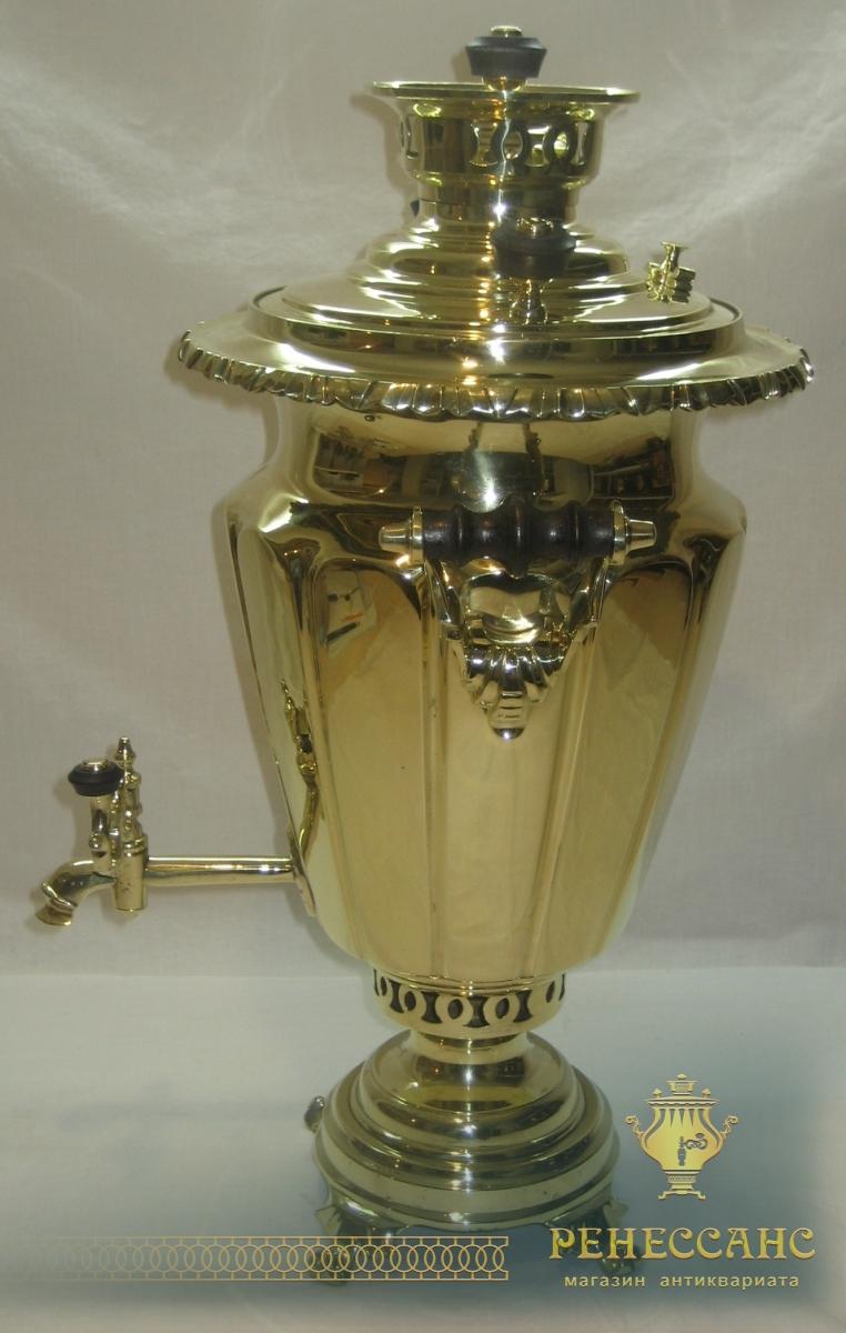 Самовар угольный «рюмка», на 4,5 литра, Россия 19-20 век №784