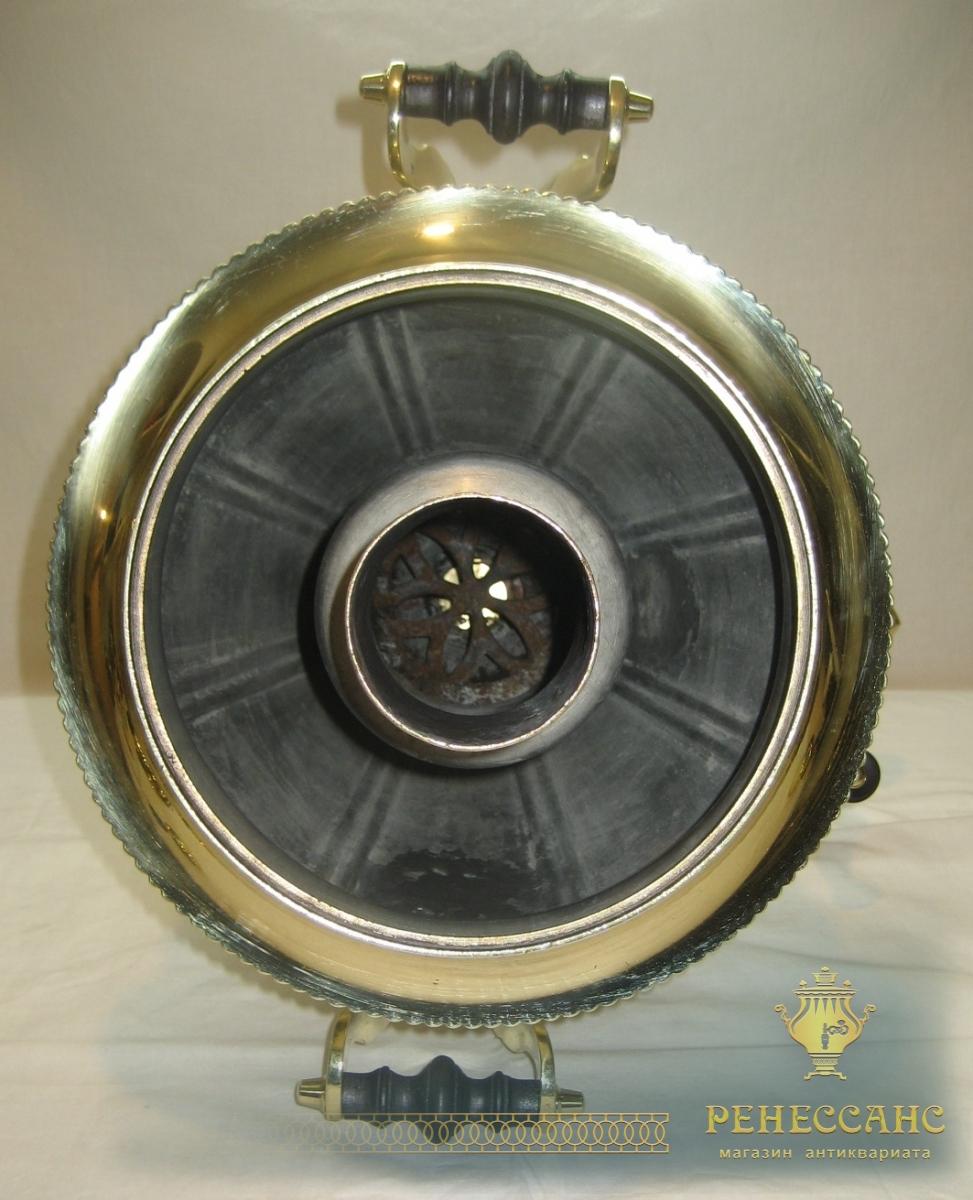 Самовар угольный «рюмка» на 7 литров, «ТПТ» 1920-е годы №790