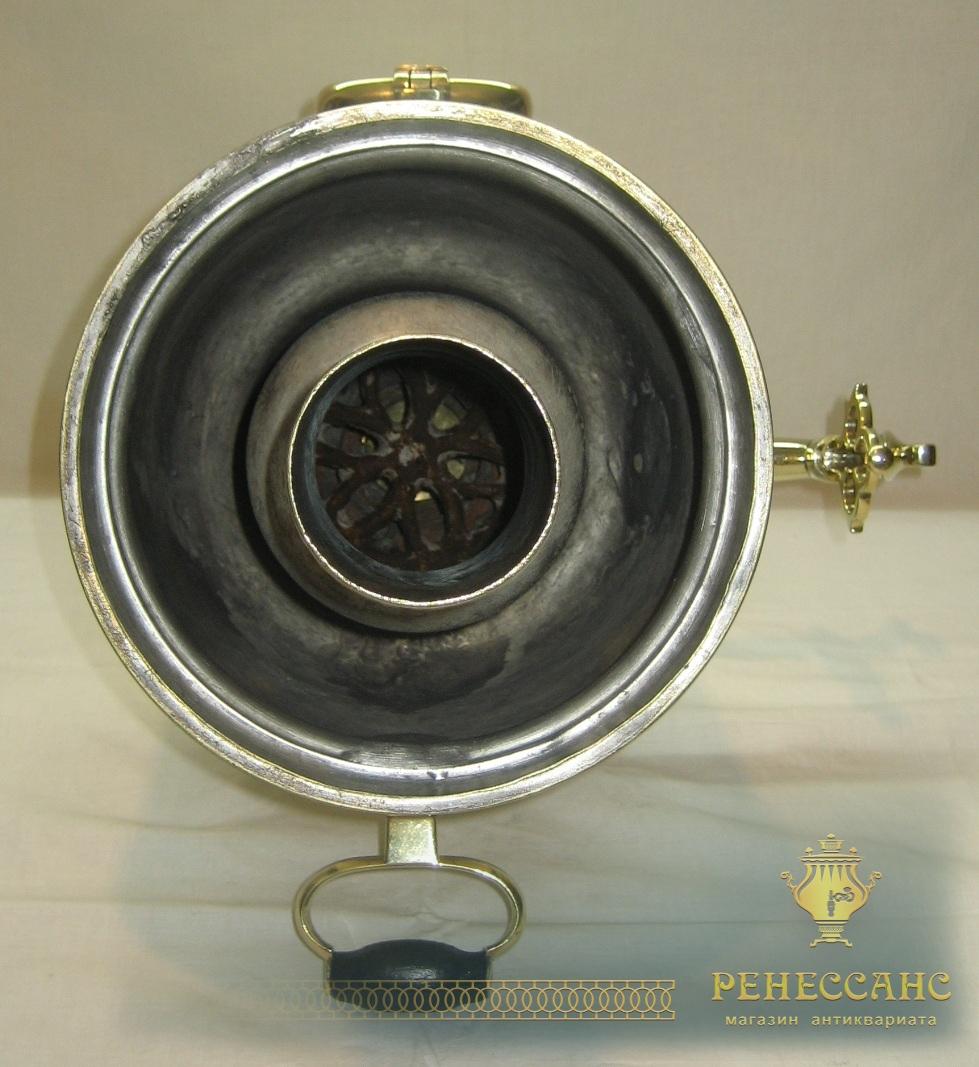 Самовар на дровах «банка», с медалями, на 5 литров, «Тейле» 19 век №791
