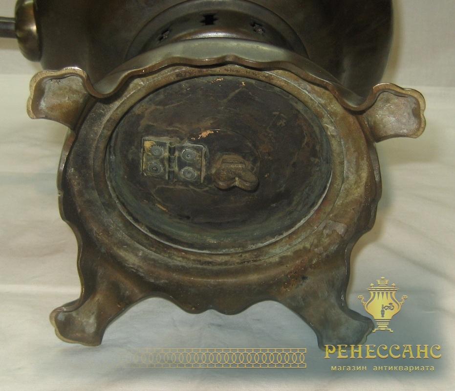 Самовар угольный «банка», на 6 литров, «Тула» 1956 год №809