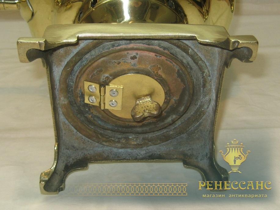 Самовар старинный «банка», с медалями, на 4 литра, «Бр. Гостьевы» №823