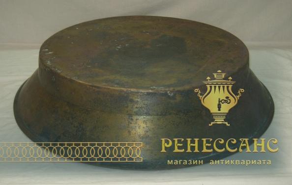 Таз из латуни, огромный, на 13 литров, «Красный Выборжец» №3430