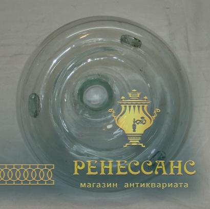 Мухоловка старинная, стекло, Россия 19 век №3521