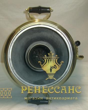 Самовар на дровах «рюмка», на 5 литров, «Тула» СССР №918