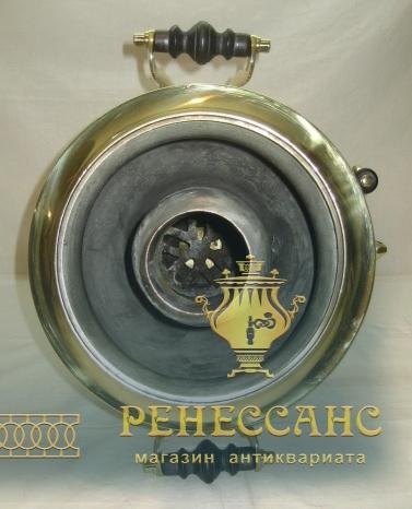 Самовар угольный «рюмка», на 5 литров, «ТулМетПром» 1920-е годы №943