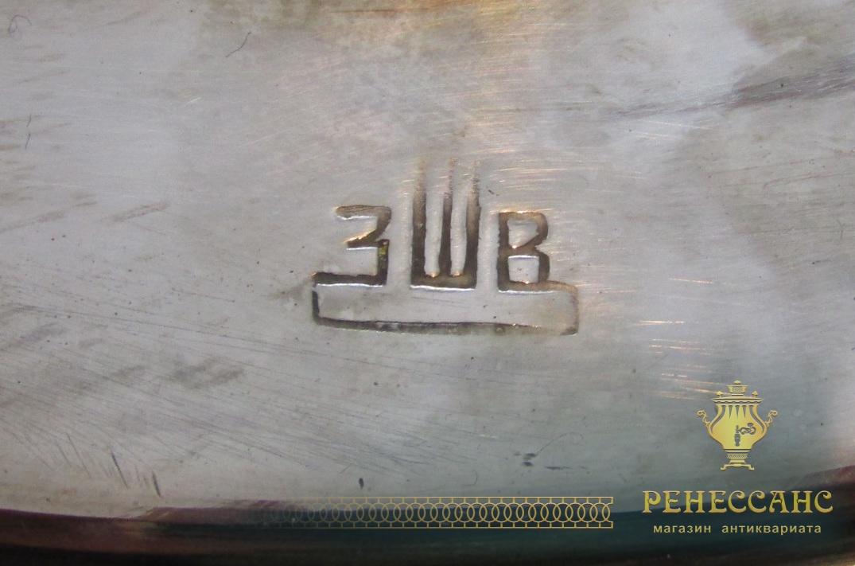 Самовар угольный «банка», на 7 литров, «ЗШВ» 1978 год №981