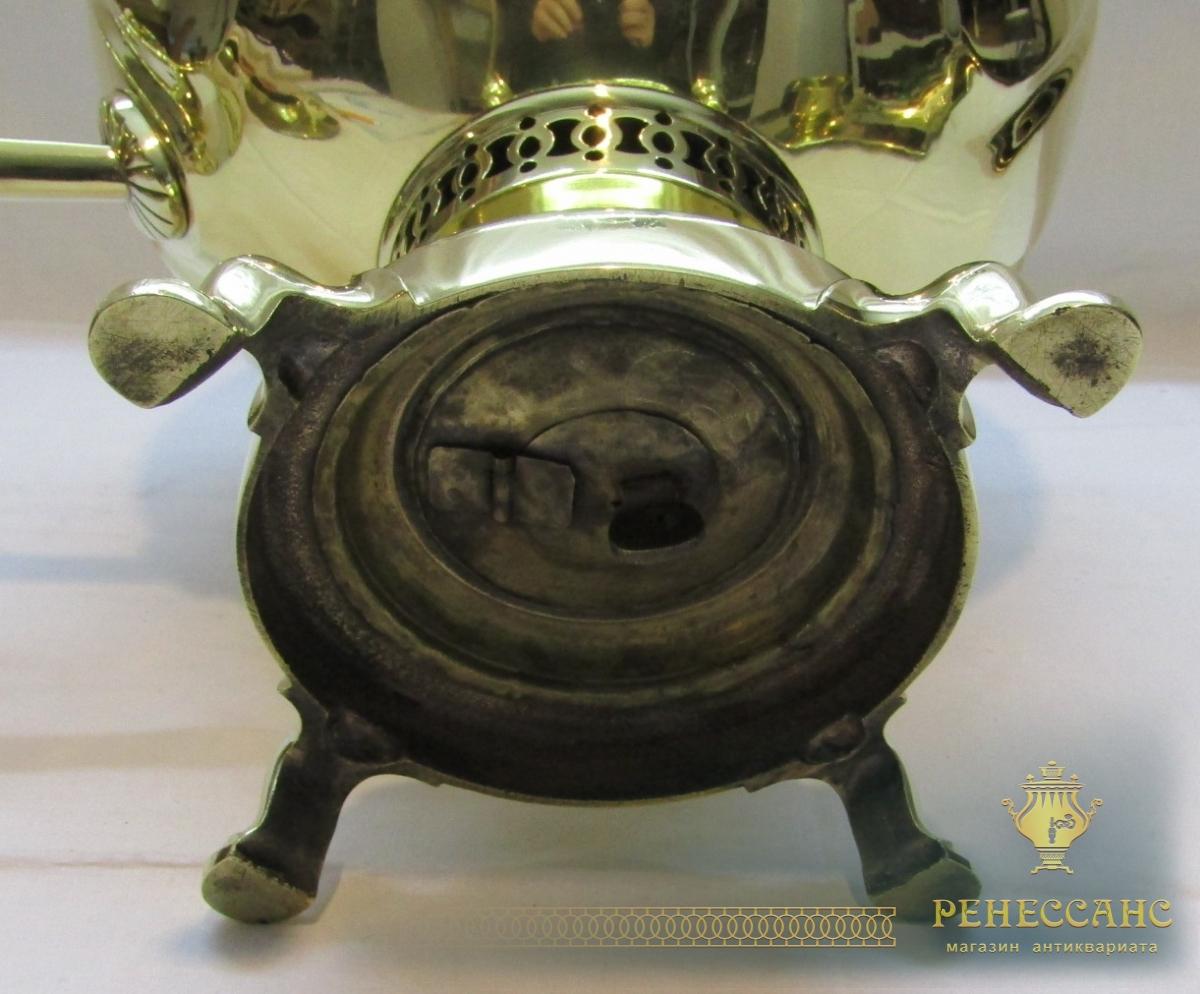 Самовар старинный «арбуз», с  набором, «Н.А. Воронцов» 19 век №999