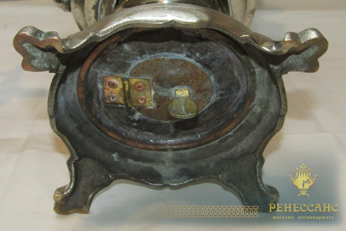 Самовар на дровах «рюмка», на 4,5 л, «Со звездой» 1941 год №1003