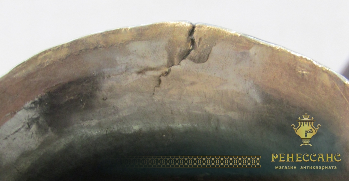 Труба для самовара старинная, диаметр 66 мм №4392
