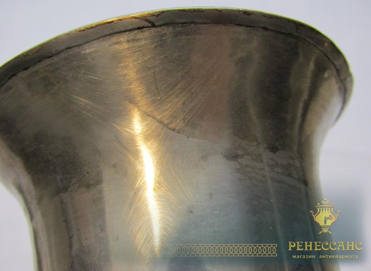 Труба к самовару старинная, диаметр 66 мм №4394