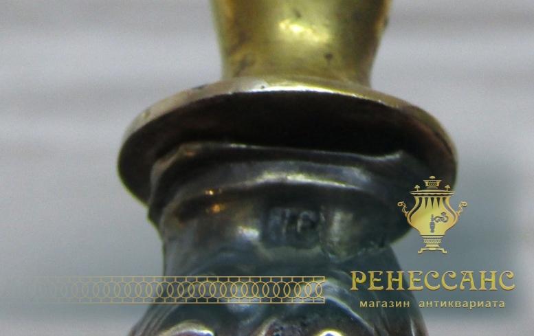Набор сервировочных приборов, модерн, серебро 84 пр №4591