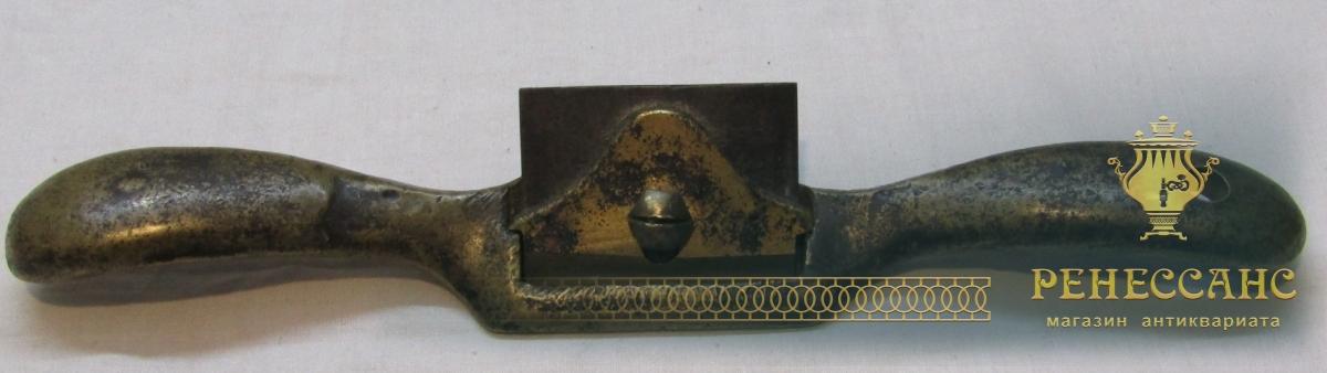 Тесало старинное, скобель, столярный инструмент №4679