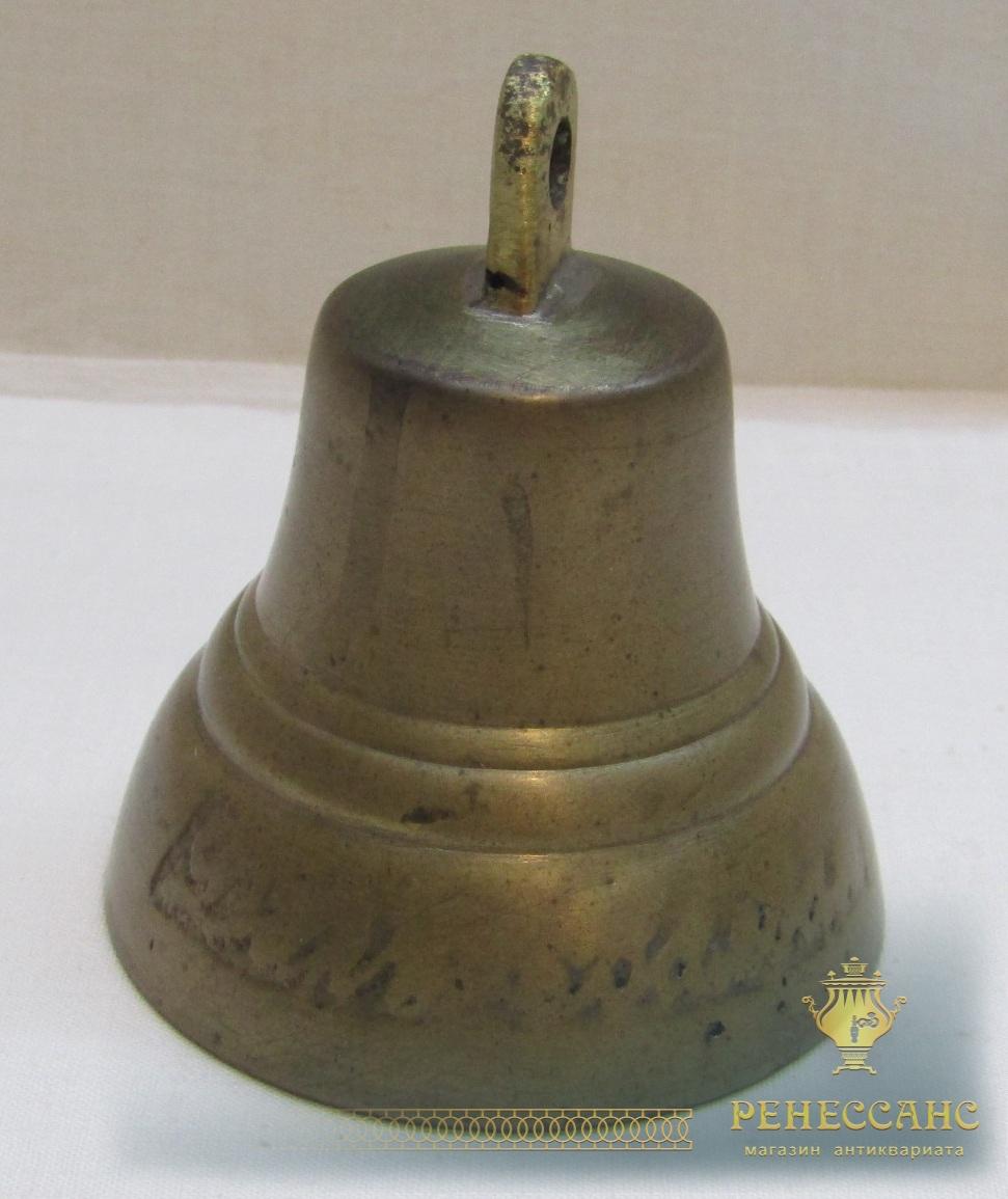 Колокольчик старинный поддужный «Дар Валдая» №4984