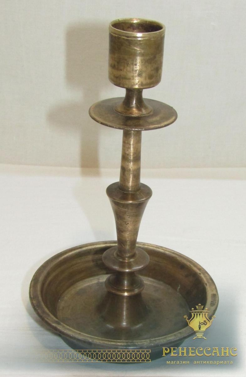 Подсвечник старинный «Юдин» 19 век №5041