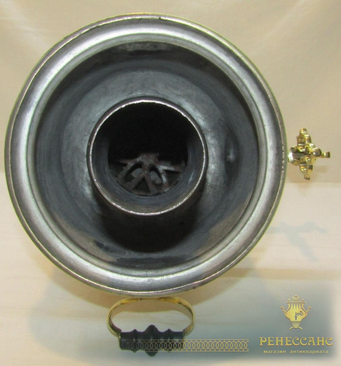 Самовар старинный угольный на 6 литров, Россия 19-20 век №922