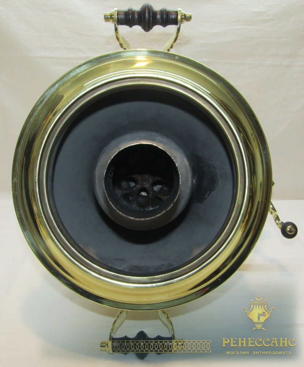 Самовар угольный «рюмка», на 6 л, «Бр. Шемариных» №1151