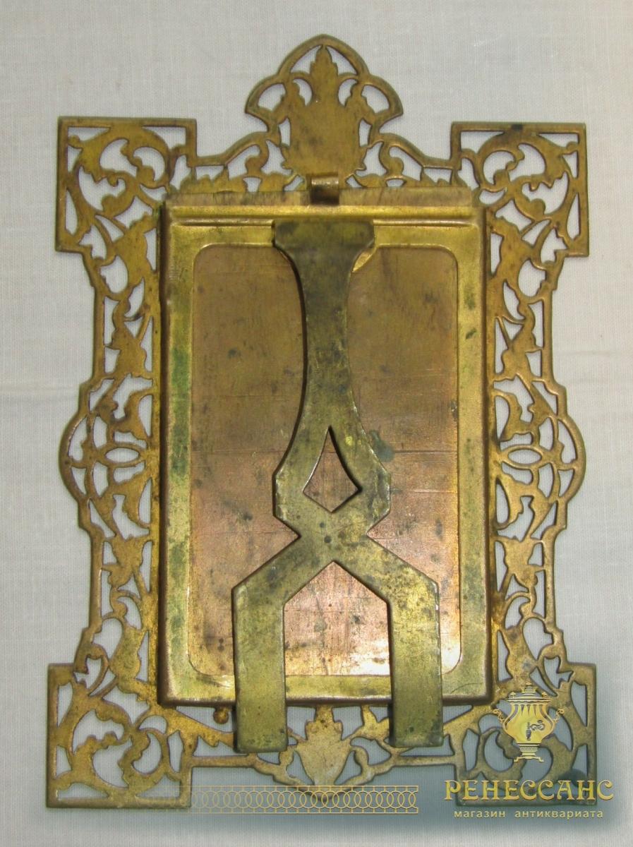 Рамка для фотографий старинная из латуни №6025